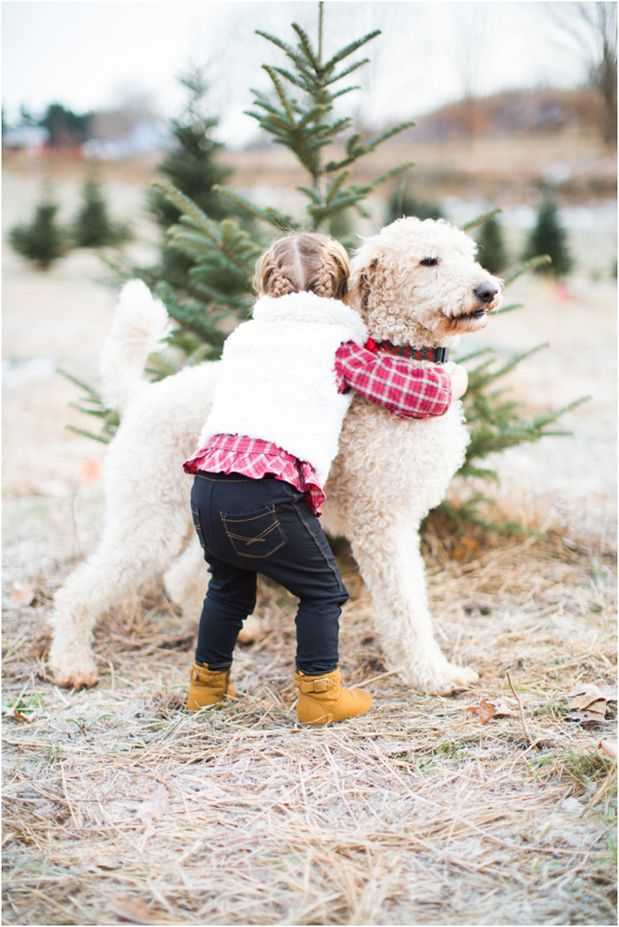 Must love dogs :: sweet girl & her pup
