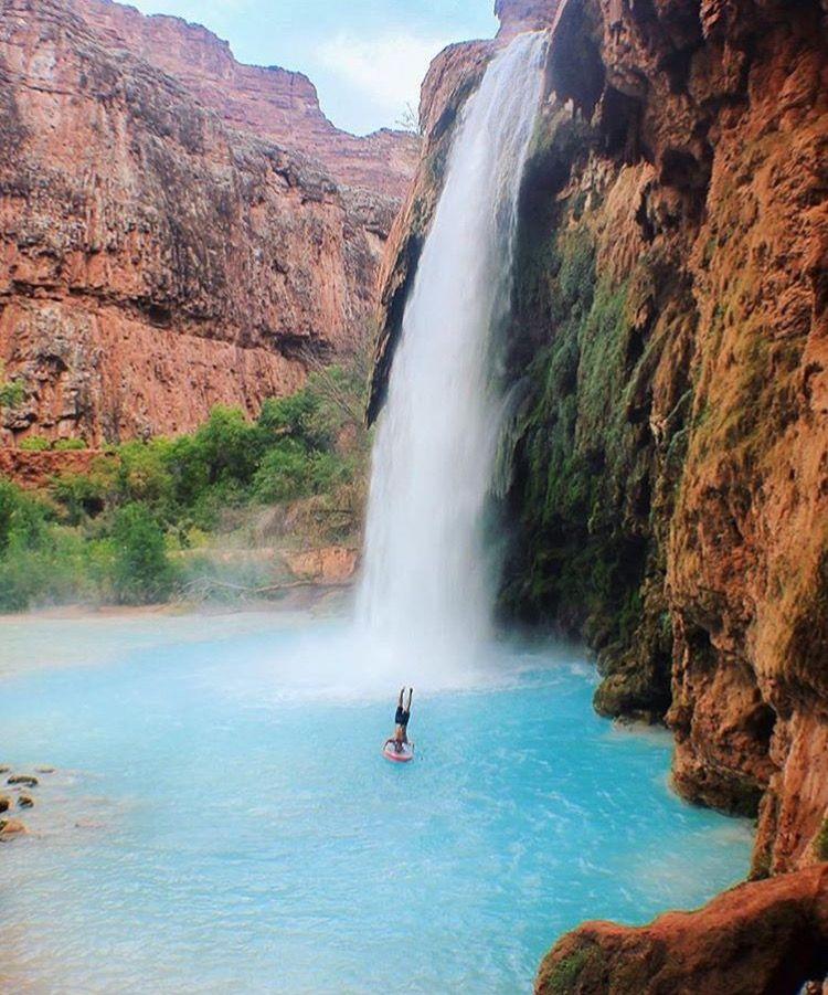 Cool Places To Visit, Havasu Falls