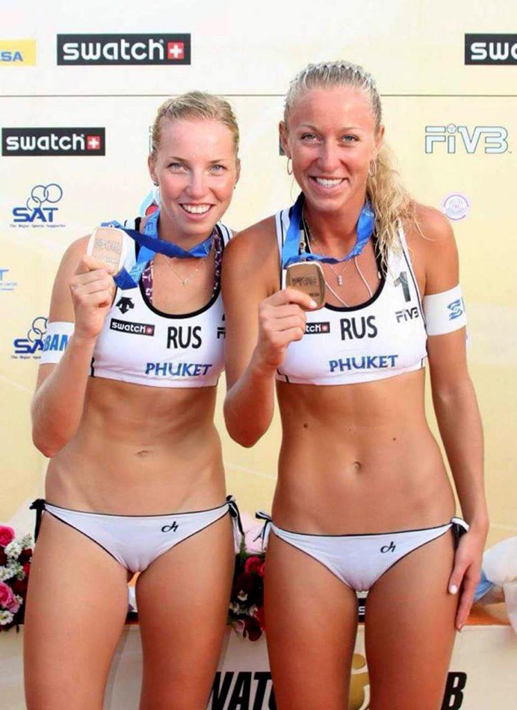 Beach volleyball voyeur