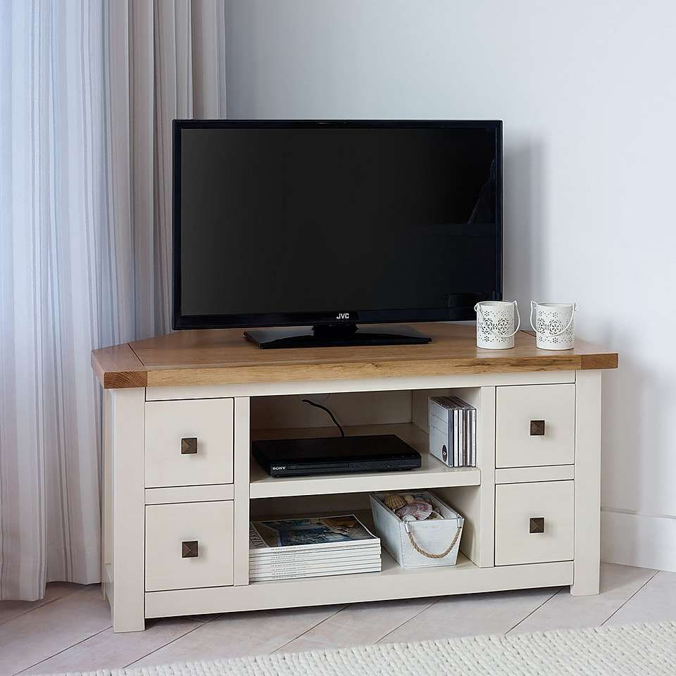 Henley Cream Living Furniture Collection Dunelm Corner TV