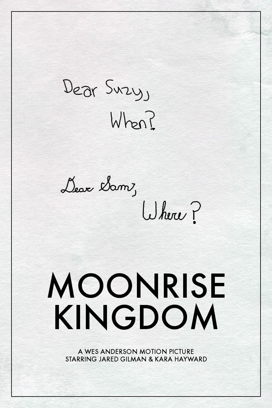 Otra forma de ver Moonrise Kingdom