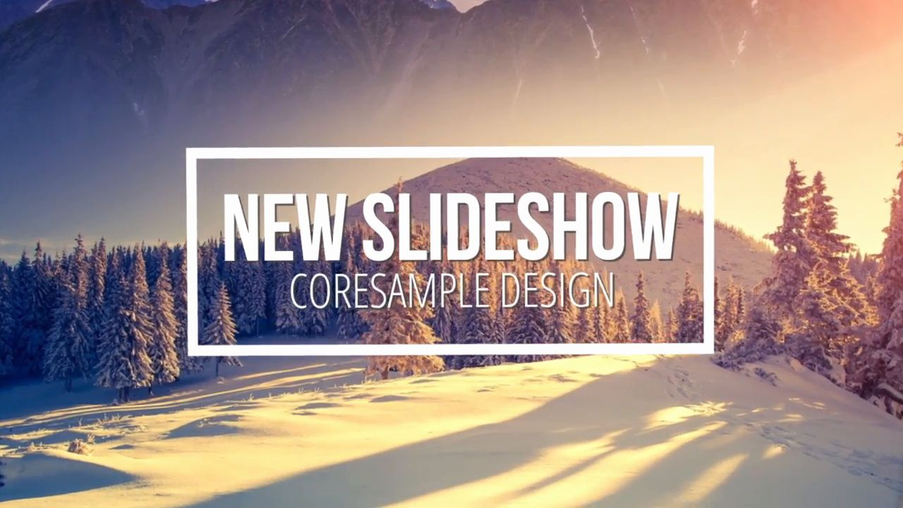 free slideshow template after effects cs4