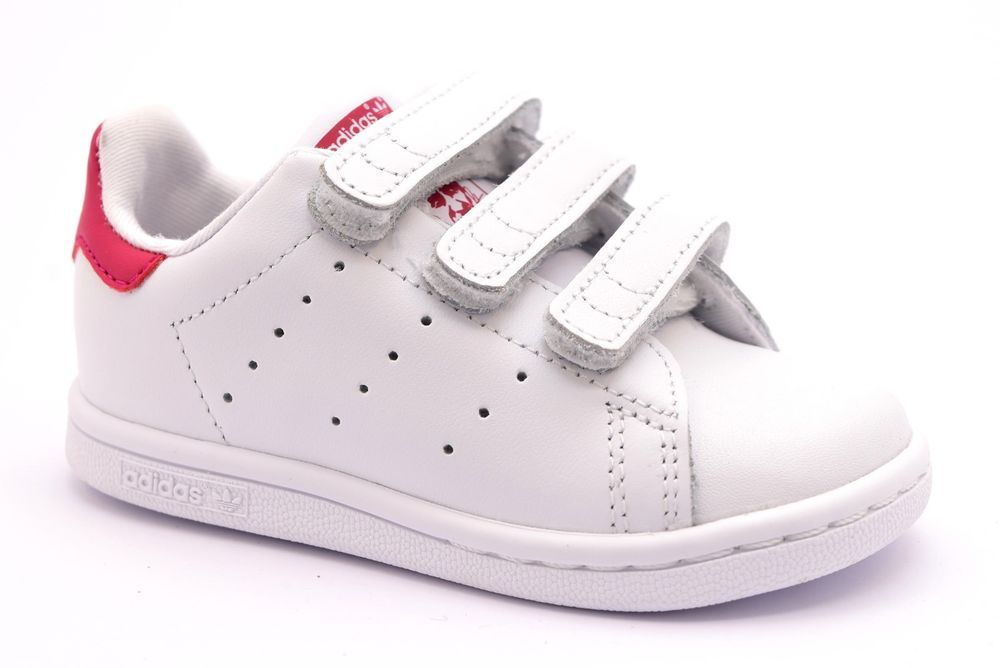 adidas stan smith rosa strappi