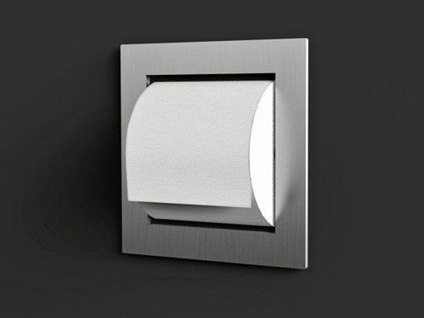 modern powder rooms toilettenpapierhalter - Moderner Freistehender Toilettenpapierhalter