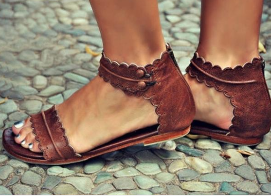 ea9a70e6cb2 When In Rome Flat Sandal – You certainly don t have to be in Rome ...