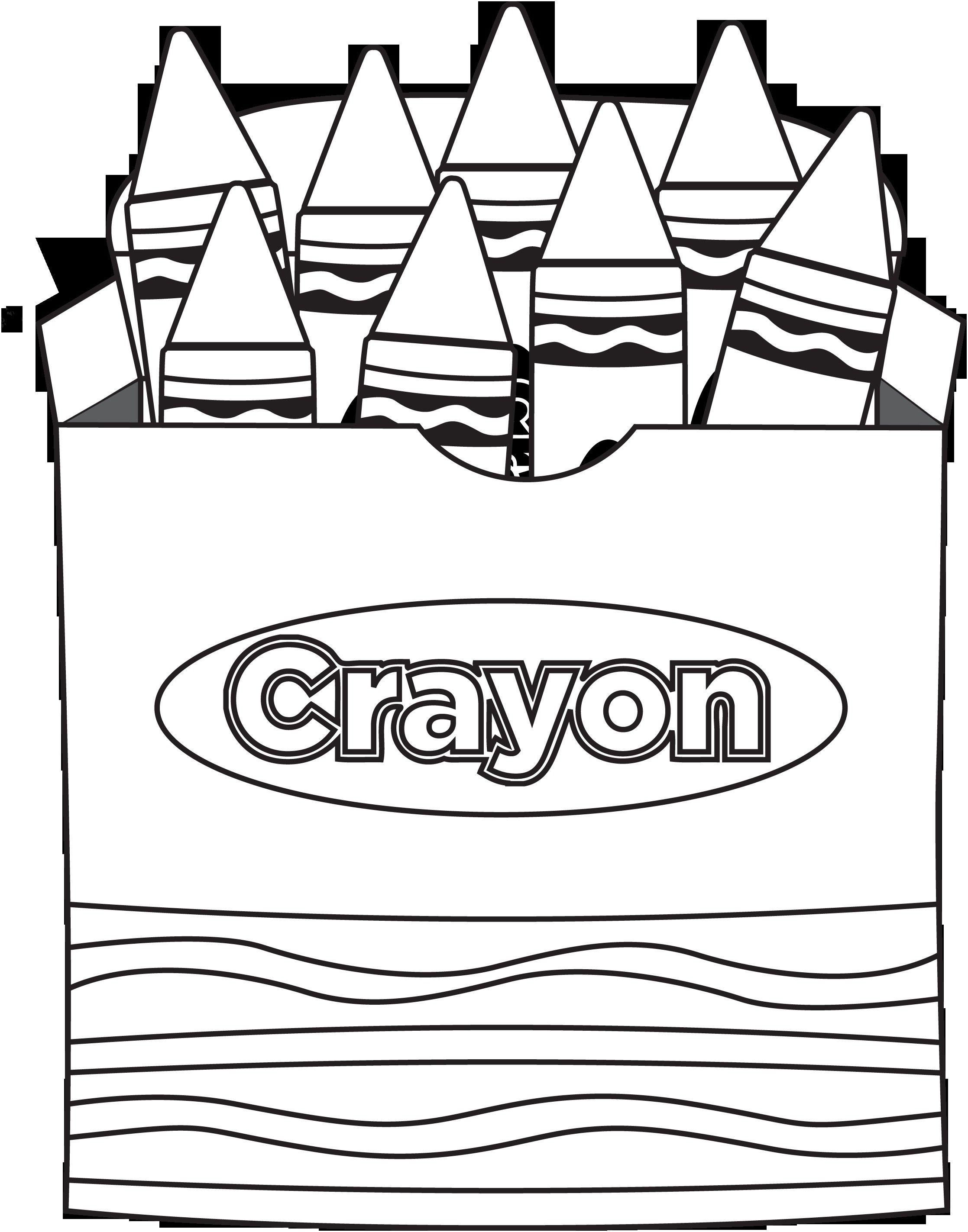 8 Coloring Page Crayon Kindergarten Coloring Pages Coloring Pages Kindergarten Coloring Sheets
