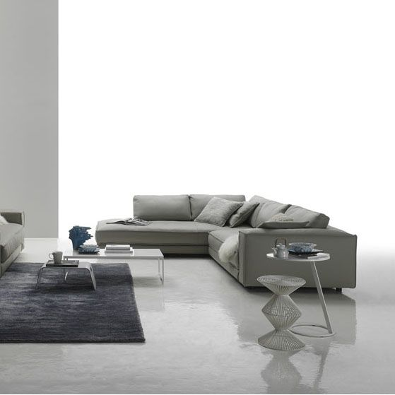 Minerale Corner Sofa | Living room | Leather corner sofa ...