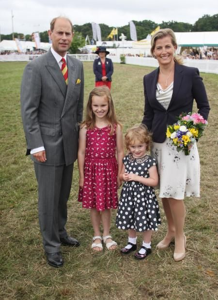 7-31-13.  Prince Edward, Earl of Wessex and Sophie, Countess of Wessex visit the New Forest and Hampshire county show 2013 at The Showground, New Park in Brockenhurst, England.