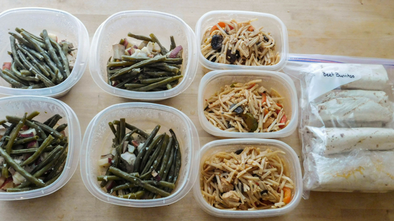 sunday meal prep 10/16/16 - Nymph In The Woods