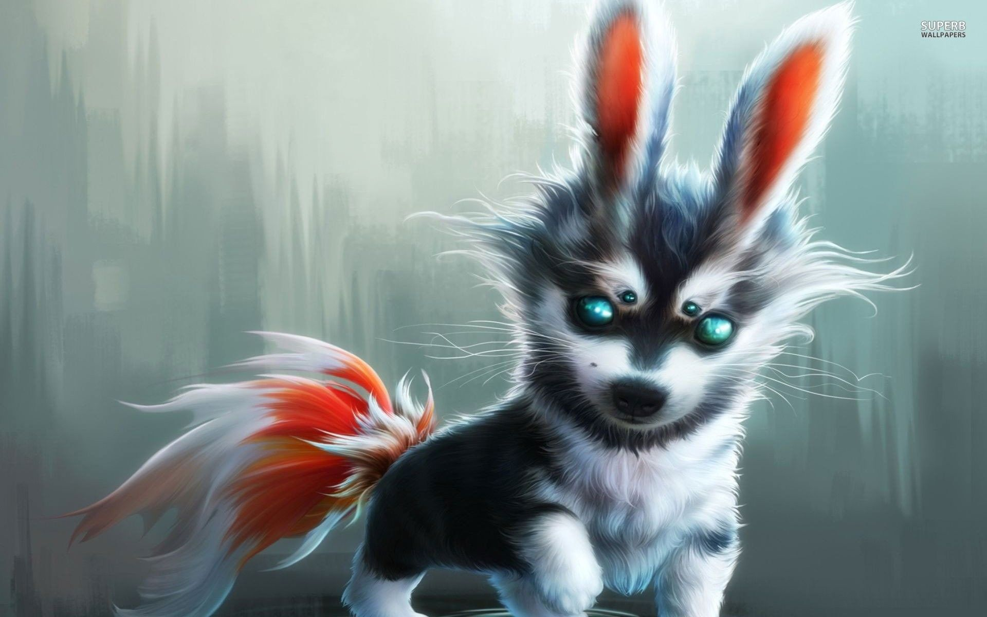 Cute Baby Wolf Wallpaper 58 Images Mythical Creatures Art Cute Fantasy Creatures Creature Art