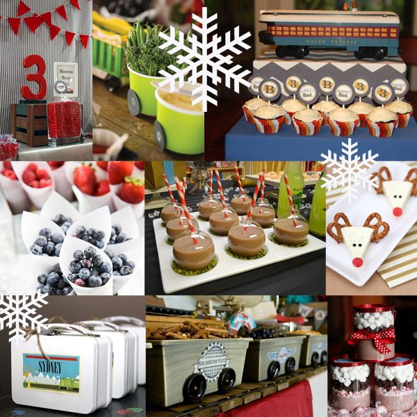 polar express party ideas for christmas