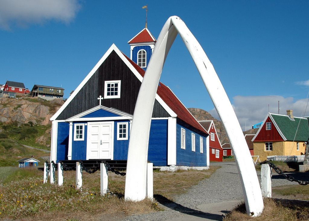 Image result for greenland church