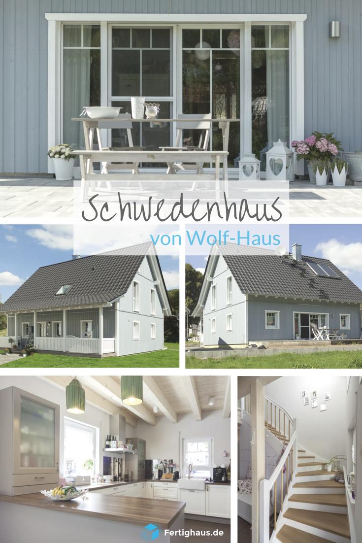Skandinavisch wohnen in diesem Schwedenhaus