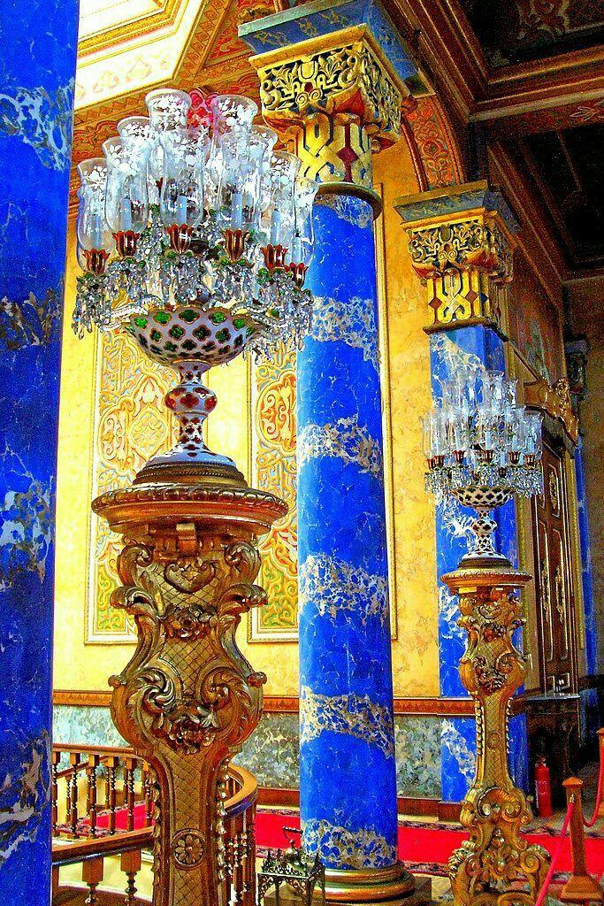 Beylerbeyi Palace, an Imperial Ottoman Summer Residence Built in the 1860s. Üsküdar, Istanbul/Turkey.