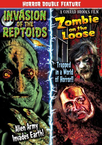 Horror Double Feature: Invasion of the Reptoids (2011) / Zombie on the Loose (2010) @ niftywarehouse.com #NiftyWarehouse #Zombie #Horror #Zombies #Halloween