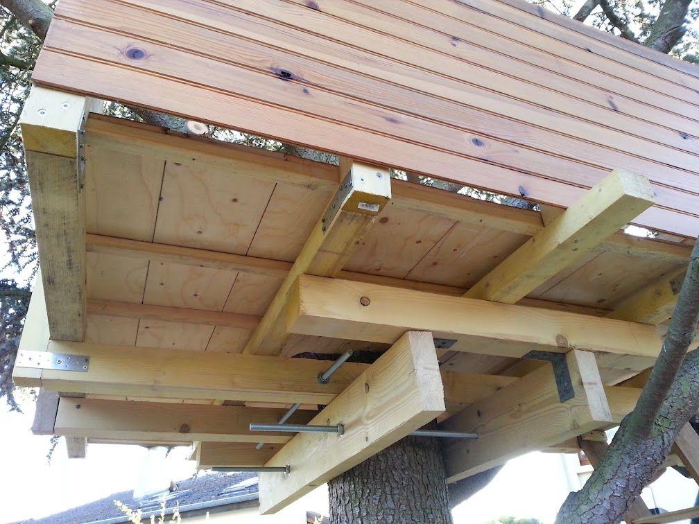 Épinglé par My Info sur casa del árbol   Cabane, Cabane jardin et Modèles de maison de l'arbre
