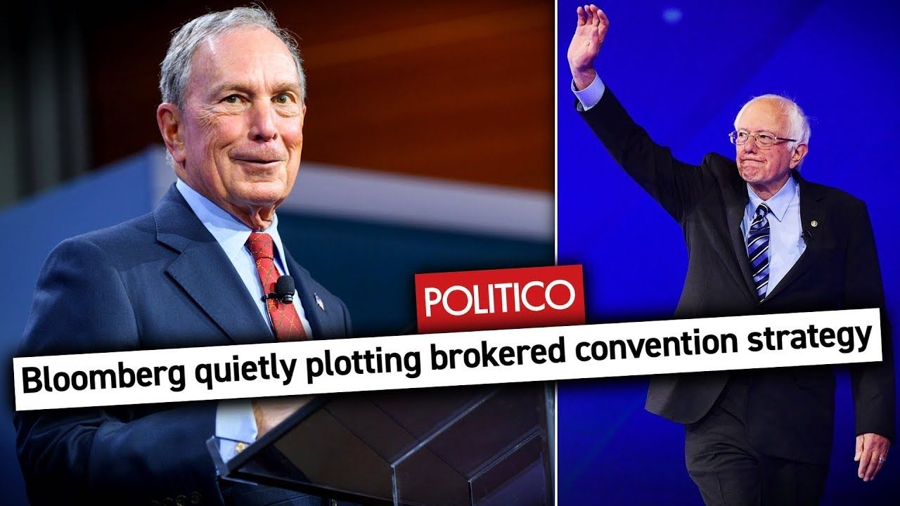 Mike Bloomberg Plotting To Steal Nomination From Bernie Sanders At Conve In 2020 Political Issues Bloomberg Thought Provoking