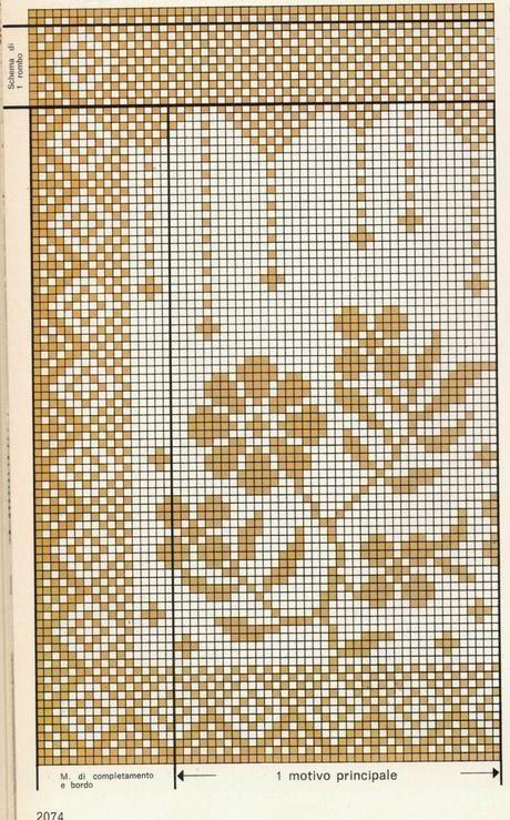 schemi per il filet tendine per la finestra gehaakte gordijnen gehaakt tafelkleed gehaakte