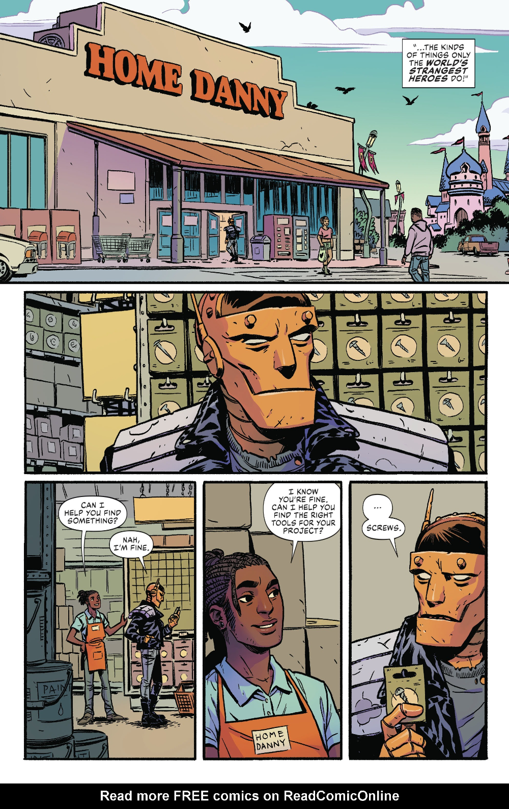 Doom Patrol Weight Of The Worlds Issue 5 Read Doom Patrol Weight Of The Worlds Issue 5 Comic Online In High Quality Comics Free Comics Doom Patrol