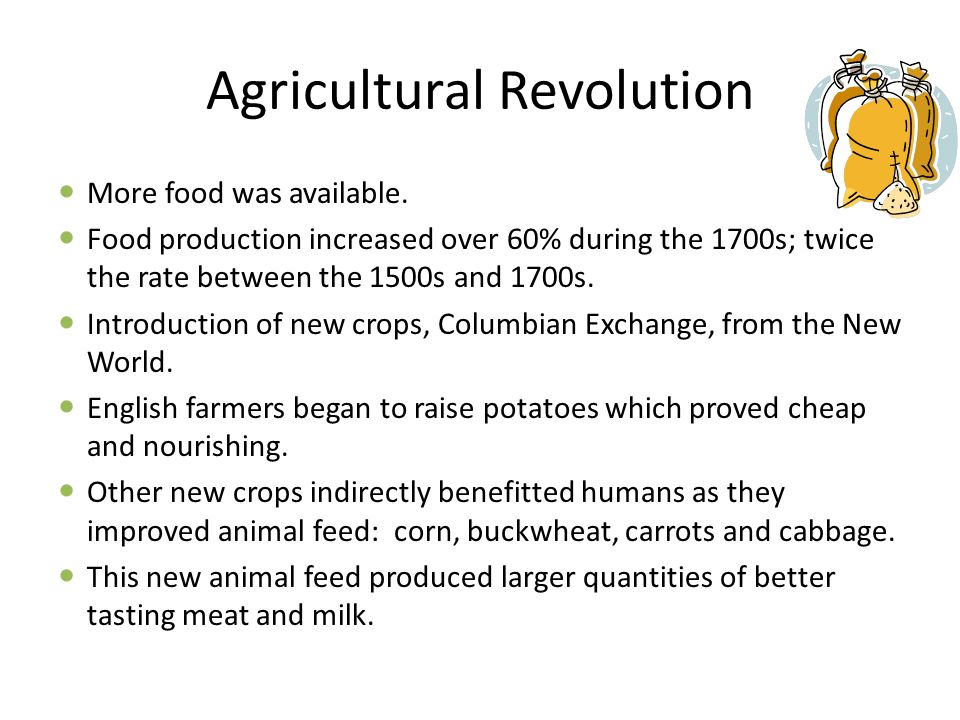 Agricultural Revolution facts Agricultural revolution