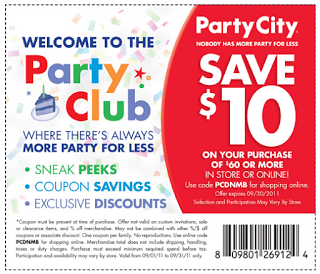 Party City Coupons Party city, Free printable coupons
