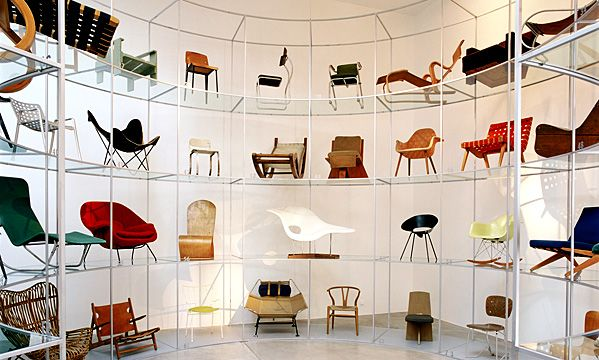 a collector 39 s collection all about the vitra mini chairs vitra design museum showroom and. Black Bedroom Furniture Sets. Home Design Ideas