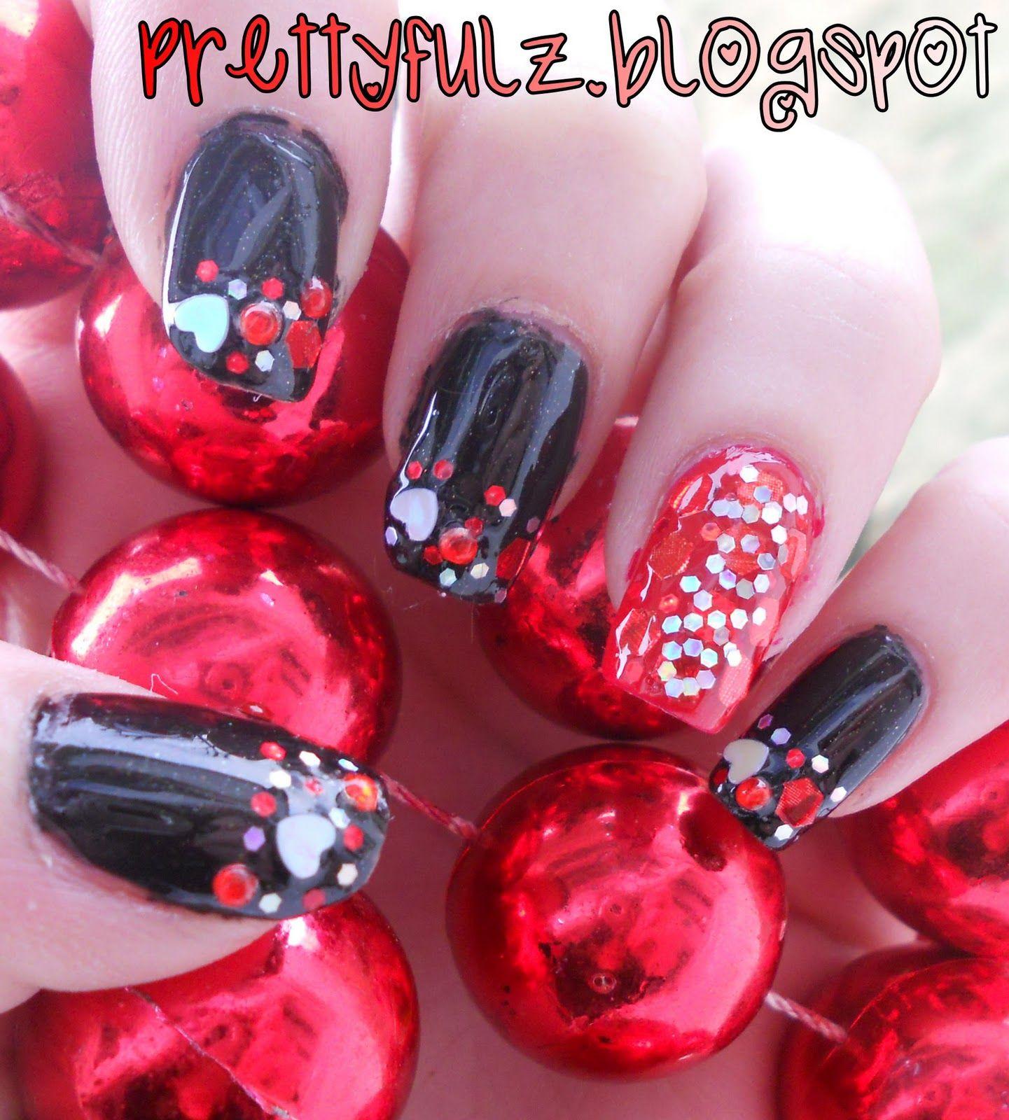 nails+designs+valentine\'s+day | VALENTINE\'S DAY NAIL DESIGN xoxo ...