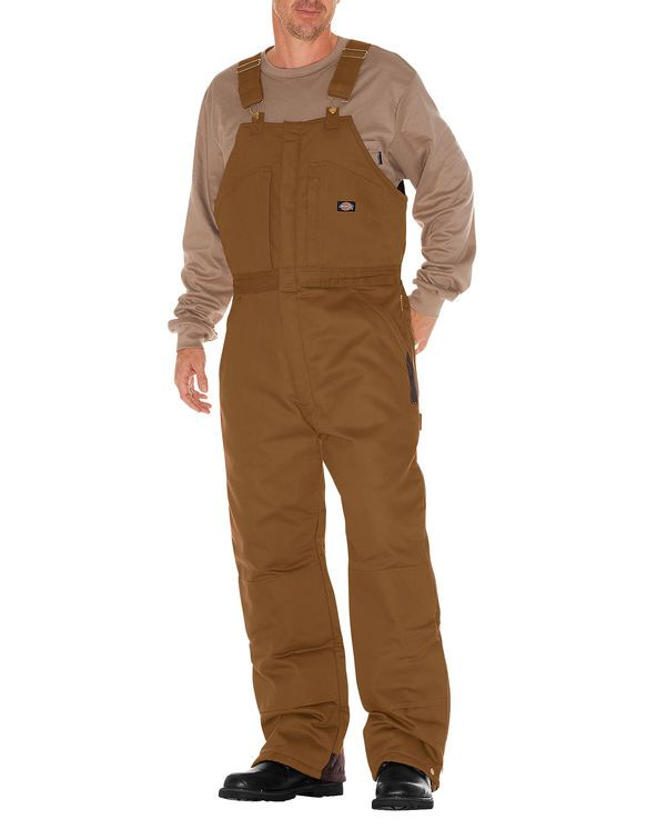 duck bib overalls for men brown duck dickies in 2020 on best insulated coveralls for men id=20083
