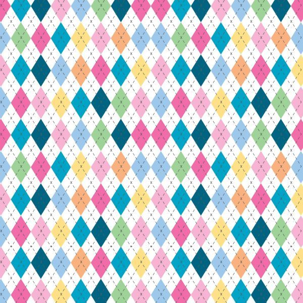 argyle rainbow  | Paula Kim #background #argyle #zoggin