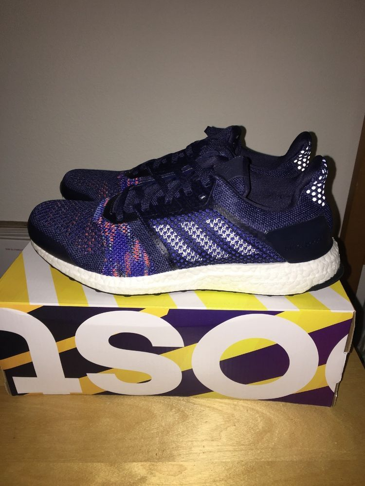 ec8acb595e54e NEW Mens Adidas ULTRA BOOST ST flyknit Running Shoes Size 10 CQ2146  STABILITY  fashion  clothing  shoes  accessories  mensshoes  athleticshoes  (ebay link)