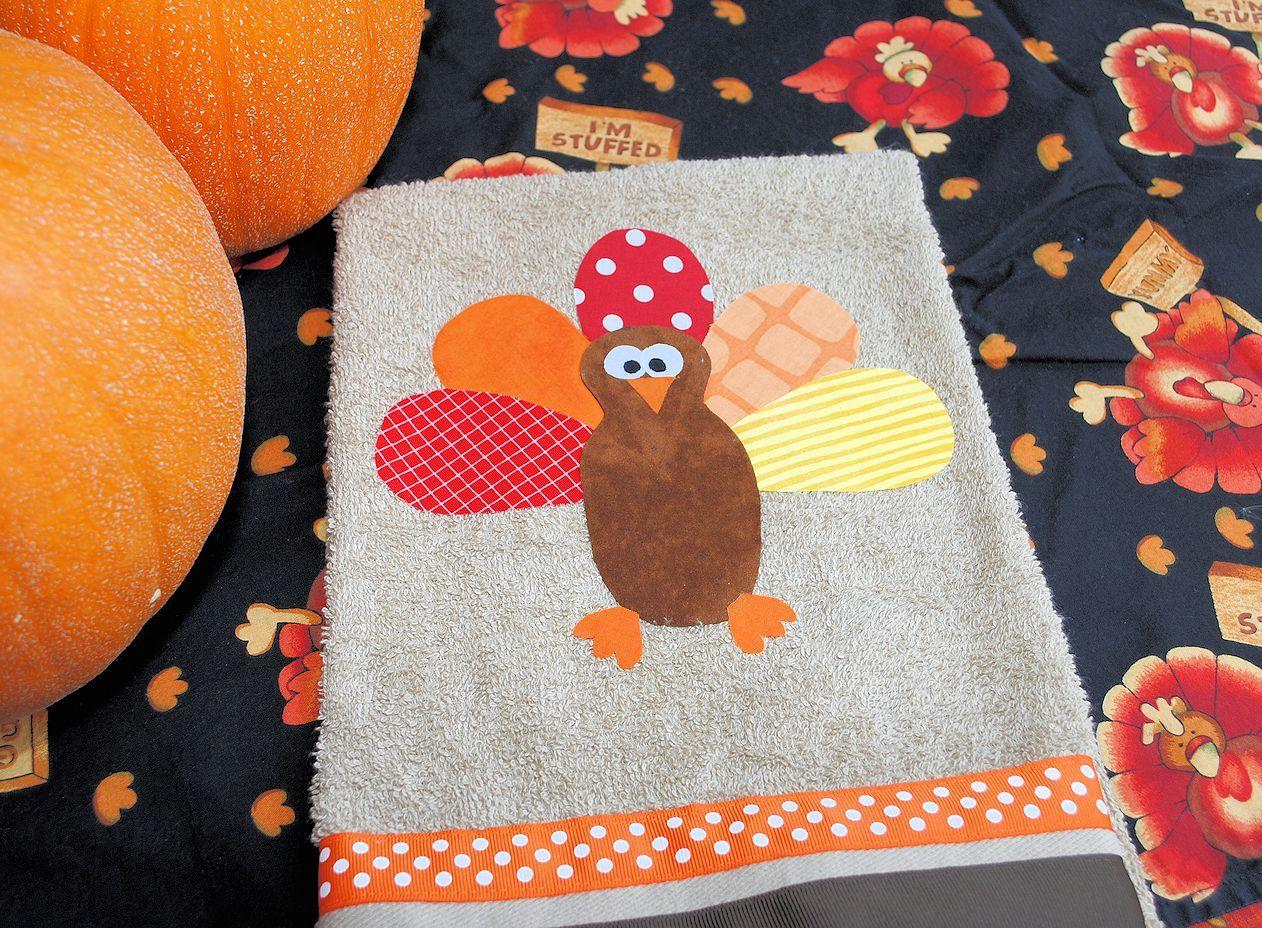 Attrayant DIY Turkey Thanksgiving Hand Towels