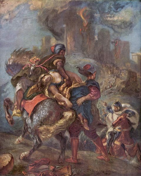 """er mundo de manué"": Eugène Delacroix, obras, cuadros, pinturas"