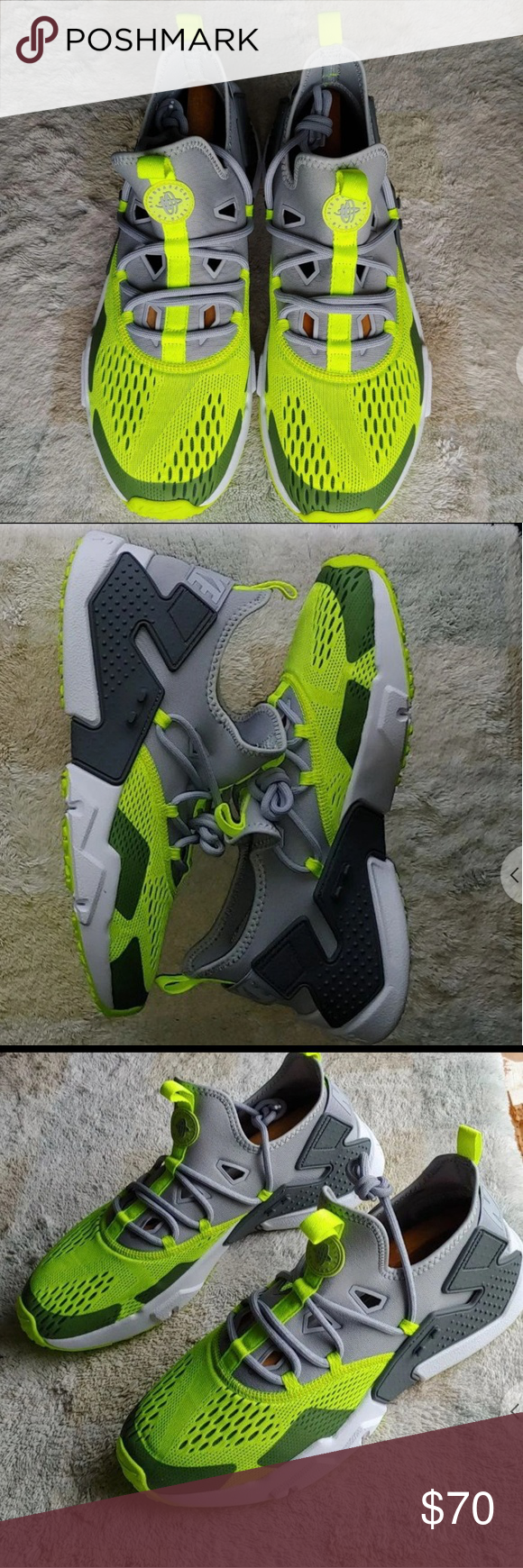 finest selection 4d09b e58aa Men s Nike Huarache drift Men s Nike Huarache drift size 11.5 brand new  without box volt green