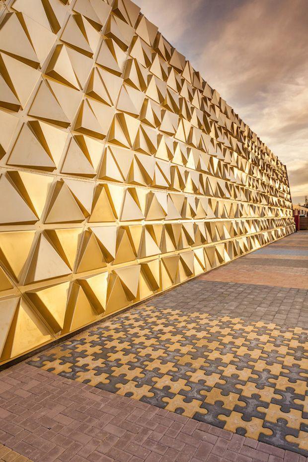 La Façade Du Gold Souk Dans Le Quartier De La Goudstraat (Rue Dorée) Dans