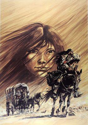 Leituras de BD/ Reading Comics: Ilustração: Buddy Longway & Chinook