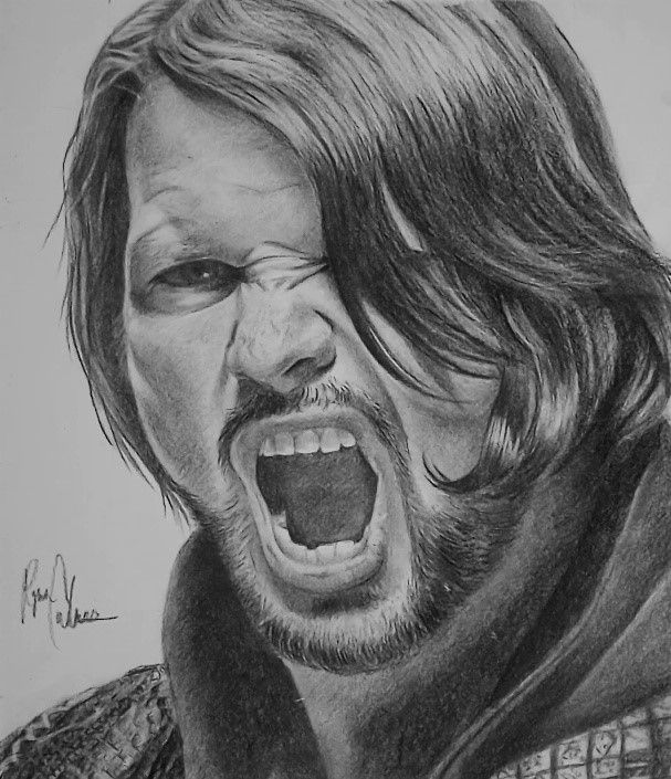 Wwe The Phenomenal One Aj Styles By Yunohrc Aj Styles Wwe Wwe Coloring Pages