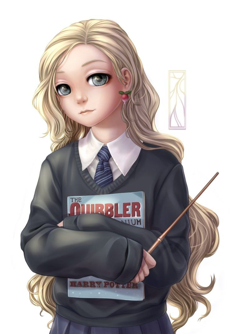 Luna Lovegood Fixed Harry Potter Drawings Harry Potter Artwork Harry Potter Luna Lovegood