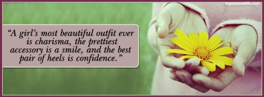 Beautiful Girl Quotes Facebook Cover Awesome Dps for