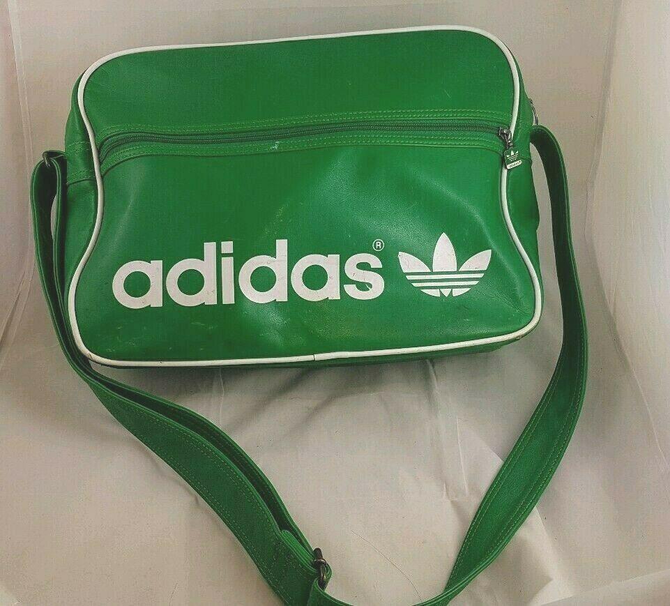 Adidas Original Airliner Cross Bag Vintage Green White Rasta Messenger Adidas Crossbodybag Cross Bag Carryon Bag Adidas Shoes Mens