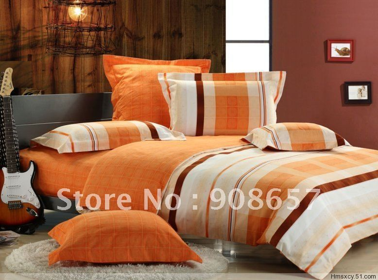Orange Bed Linen Duvet Covers Sweetgalas