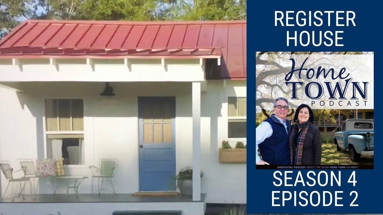Hometown Podcast - The Register's Littlest House - Season 4 Episode 2