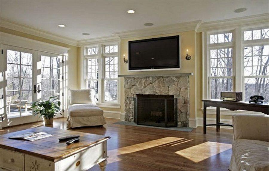 fireplace design idea brick corner fireplace design ideas living - Modern Fireplace Design Ideas
