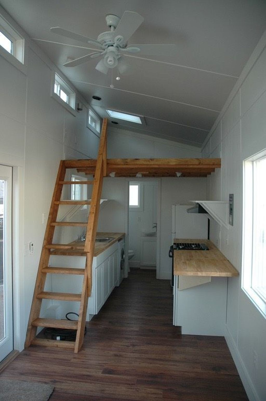 42 Beautiful Tiny House Shed Design Ideas Shed To Tiny House Tiny House Stairs Tiny House Design