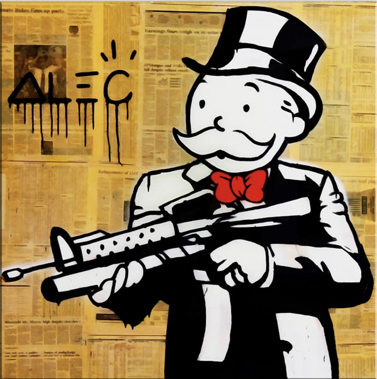 Monopoly Gangster Graphic Design Images In 2019 Monopoly Art