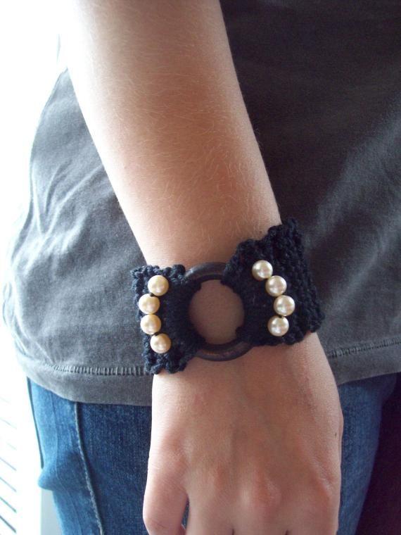 Bracelete crochê - R$10.00