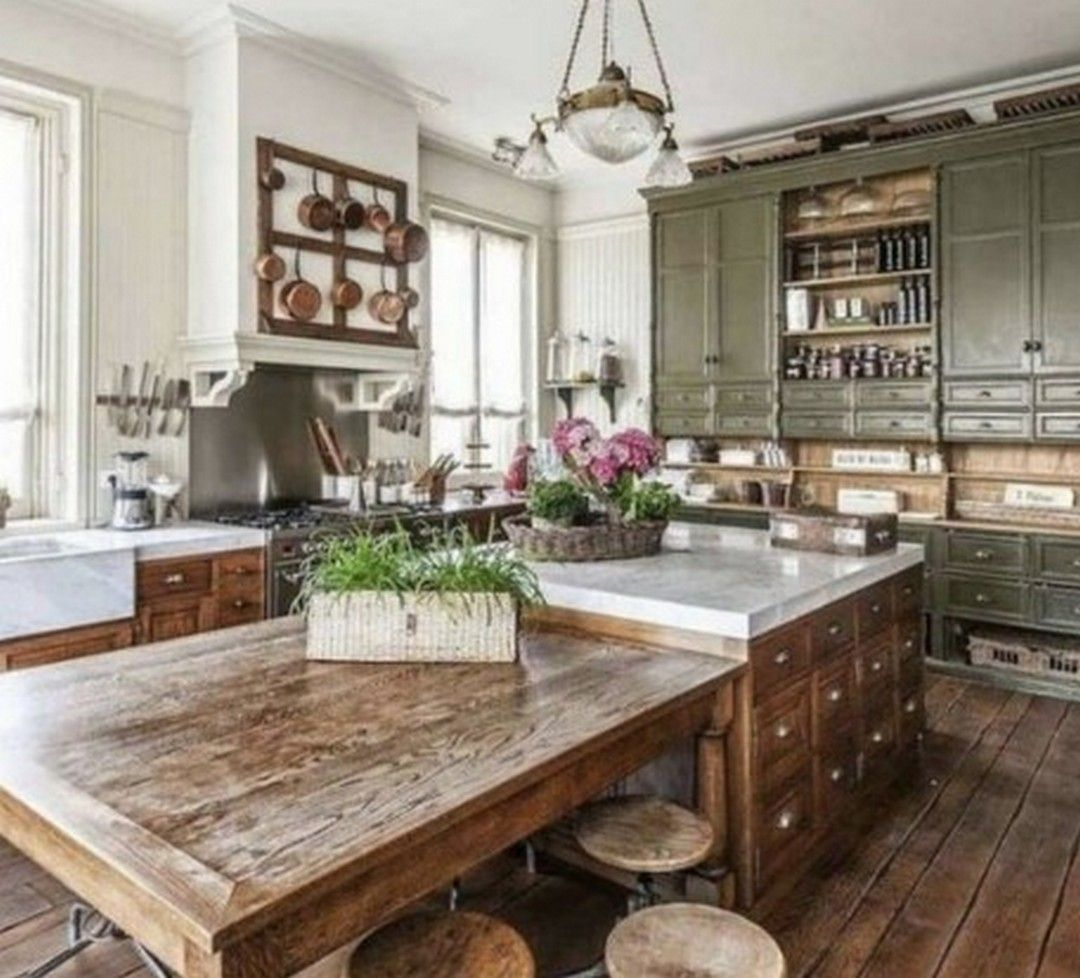Charming Rustic Kitchen Ideas And Inspirations: 5 Ideas Design Country Kitchen For Inspiration Your Home