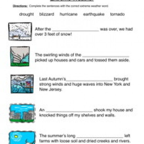 Resources Have Fun Teaching Natural Disasters Activities Natural Disasters For Kids Natural Disasters