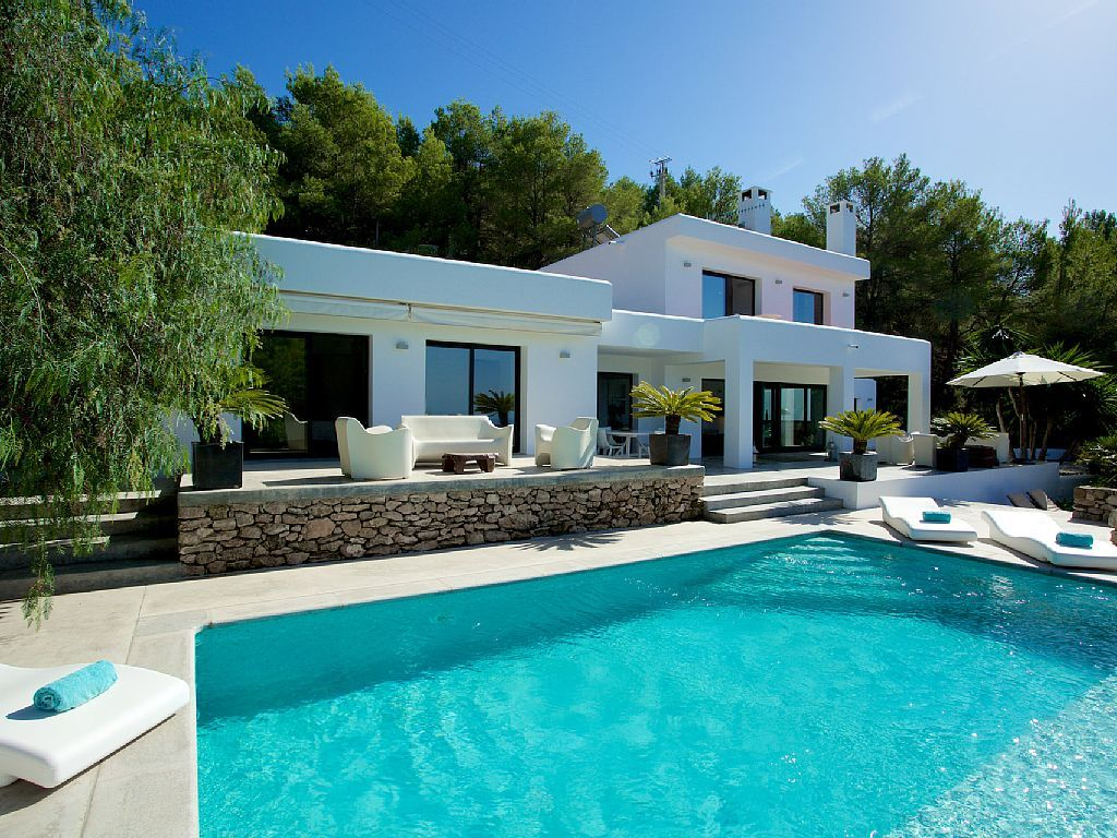 Most Beautiful Houses Ibiza Google Zoeken Planos De Casas De Lujo Casas De Verano Exteriores De Casas