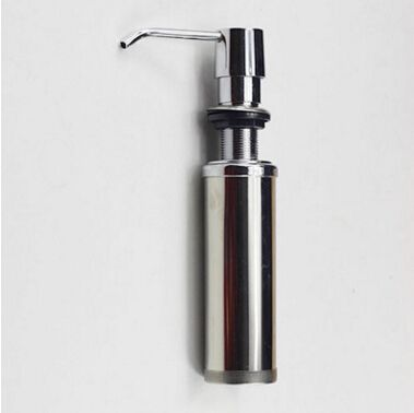 2016 Stainless Steel Hand Liquid Soap Dispenser Kitchen Sink Soap Amusing Kitchen Sink Soap Dispenser Decorating Inspiration