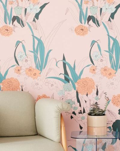 29 Removable Wallpapers That Look Like The Real Thing But Cost Half As Much Removable Wallpaper Wallpaper Stick On Wallpaper
